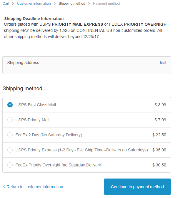 Add Custom Content to Shopify Shipping Checkout